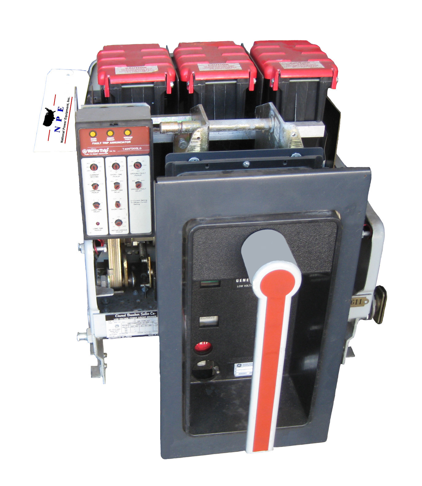 Image of a General Electric circuit breaker.
