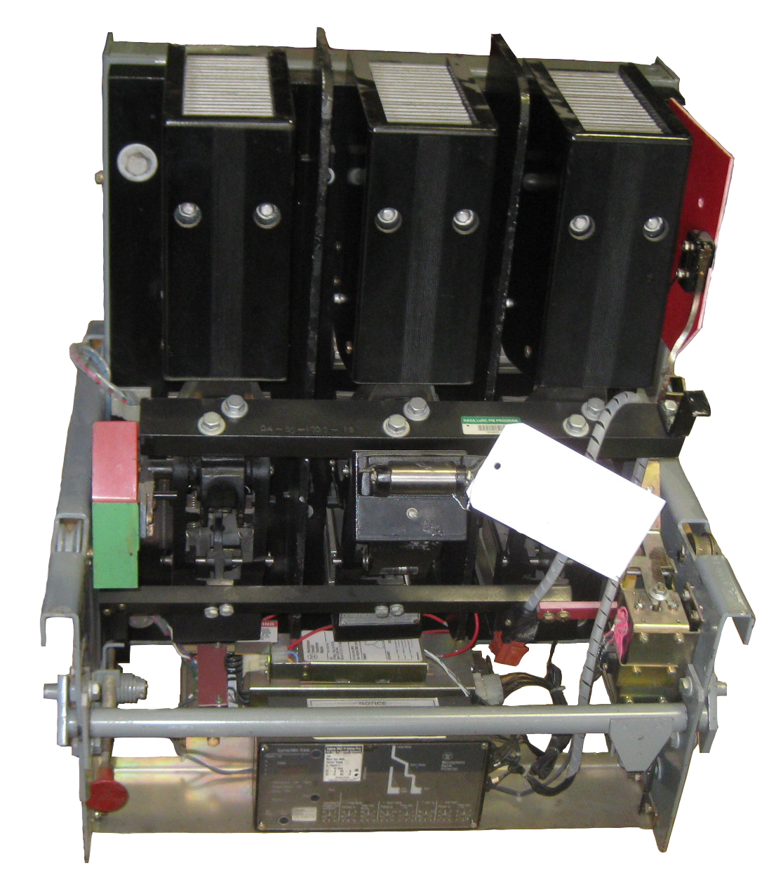 image of DA-50 manual circuit breaker