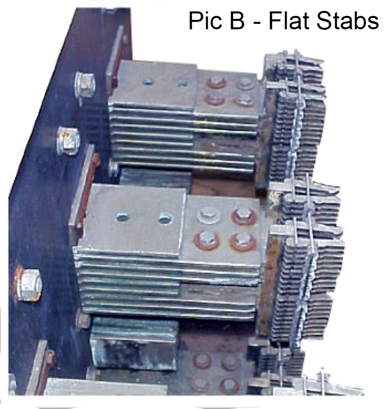 image of DA-75 flat stab circuit breaker